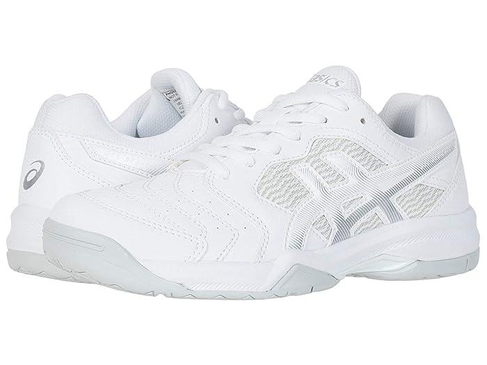 ASICS  GEL-Dedicate 6 (White/Silver) Womens Tennis Shoes