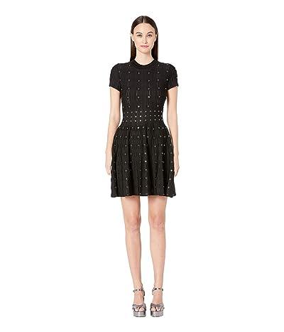 The Kooples Eyelets Powerstretch Dress (Black) Women