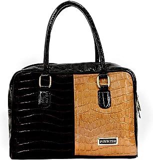 Pinkish Leatherette Handbags For Women's Ladies PK-Daily-024 PK-06 Blue