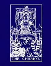 VII The Chariot: Tarot Journal Diary Log Book, Record and Interpret Readings,  3 Tarot Card Spread Journal [Idioma Inglés]