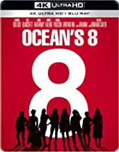 Ocean's 8 (Steelbook) (4K UHD & HD)