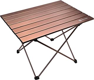 Erago Portable Folding Premium Camping Table,Lightweight&Backpack, Appropriate for Dining & Cooking, Hiking, Camping, Picnic,Beach, Outdoor