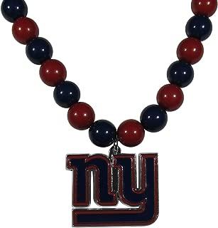 Siskiyou Sports NFL New York Giants Fan Bead Necklace