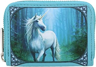 Anne Stokes Coin Purse - Forest Unicorn