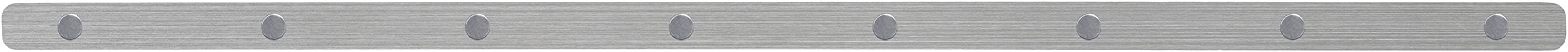 Three By Three Seattle Magnetic Skinny Strip, Stainless, 24