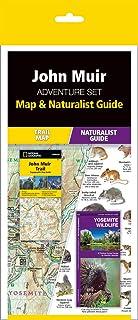 John Muir Trail Adventure Set: Map & Naturalist Guide