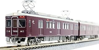 グリーンマックス Nゲージ 阪急7000系 7021編成タイプ・小窓無し 8両編成セット 動力付き 50058 鉄道模型 電車