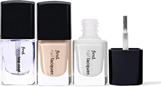 FIND - French Manicure - Esmalte de uñas, n.3 unidades (n.1