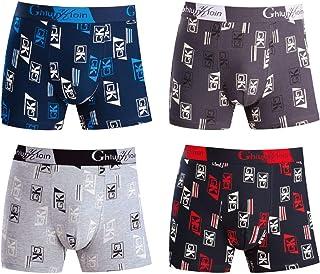 GYMAPE Pantaloncini da Uomo in Mesh con Ampi Lati divisi Intimo Boxer Slip Costume da Bagno Trasparente a Rete Colore Nero