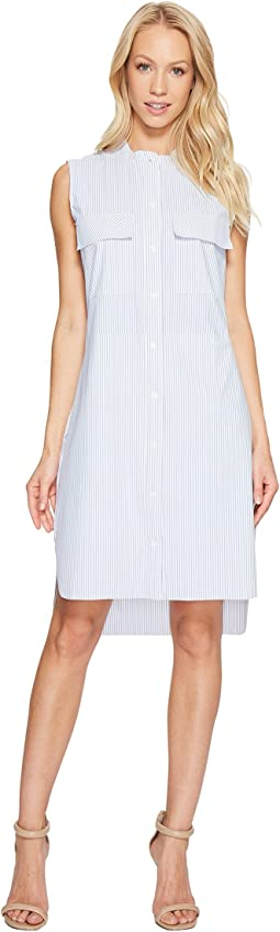 Archie Stretch Microfiber Shirtdress