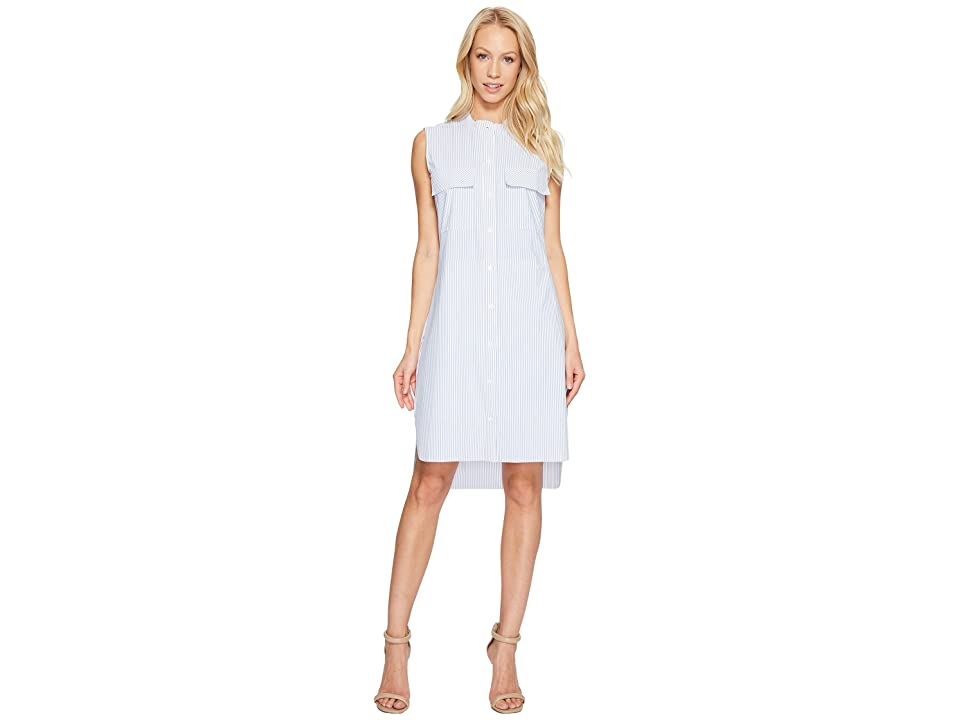 Lysse Archie Stretch Microfiber Shirtdress (Stripe) Women