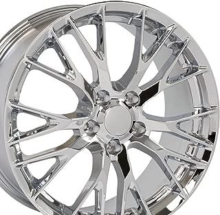 chrome z06 wheels