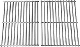 Hongso Stainless Grill Grate,SUS304,17 3/16 x 13 1/2 inch Each Cooking Grid Grate, for Grill Master 720-0697, Nexgrill and Uniflame Gas Grills (2 Pieces, SCI812)