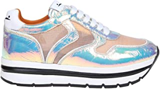 VOILE BLANCHE Women's 1M08001201350602 Multicolor Leather Sneakers