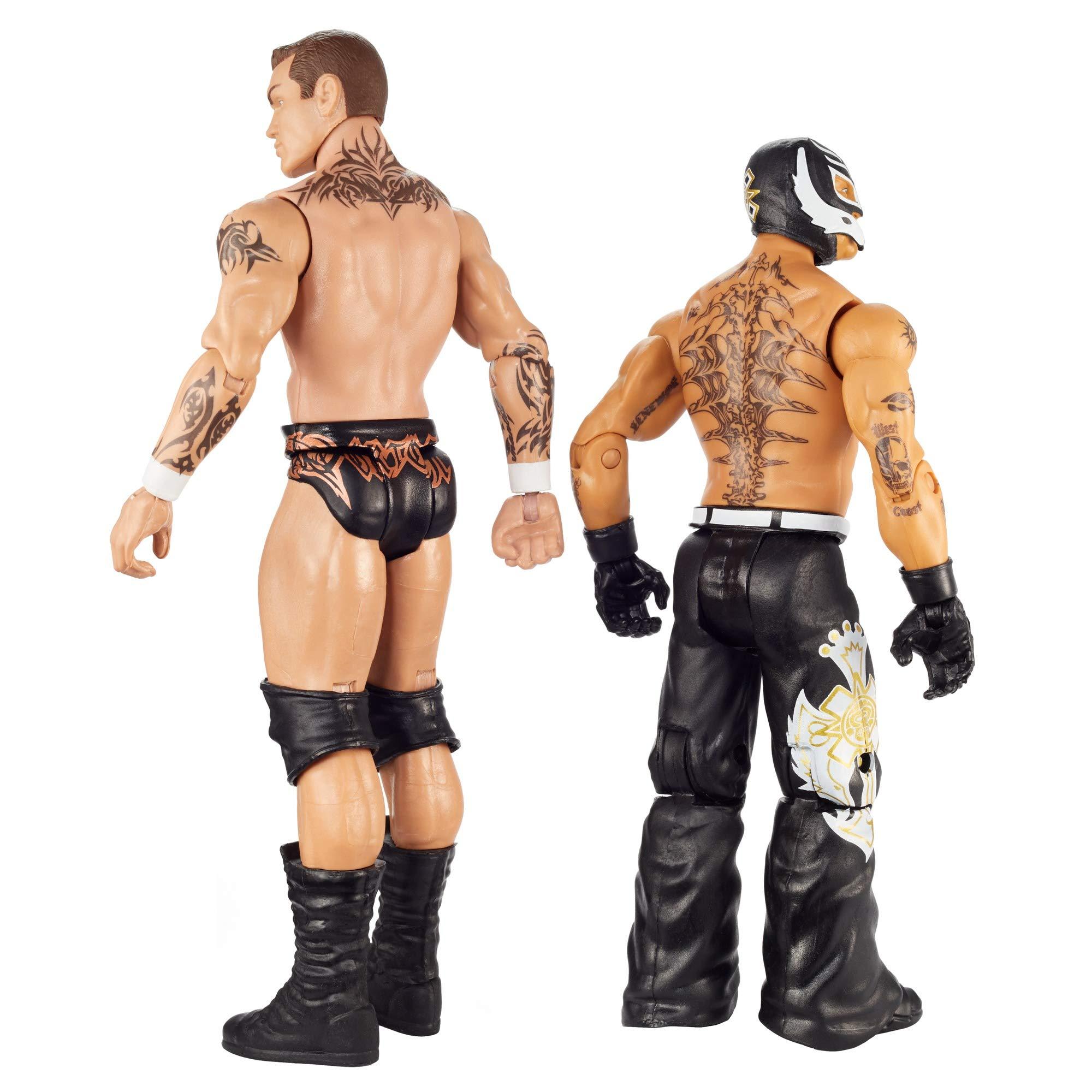 WWE GKY65 Randy Orton vs Rey Mysterio Wrestlemania 2-Pack: Amazon.es: Juguetes y juegos