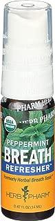 Herb Pharm, Tonic Breath Peppermint Organic, 0.47 Fl Oz