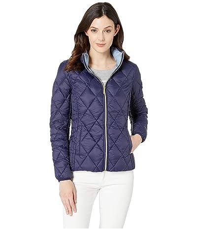 MICHAEL Michael Kors Quilted Nylon Packable Down Jacket M823965M (True Navy) Women
