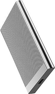 Portable 1TB externe harde schijf Draagbare SSD - USB 3.1 voor PC Laptop en Mac,Silver,1TB