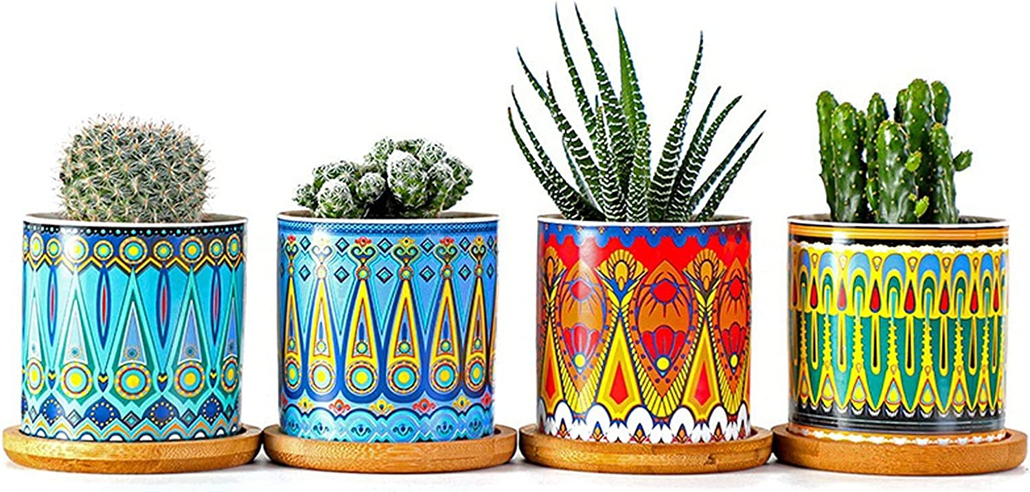 Succulent Ceramic Flower Pots Cylindrical online shopping Straight Pat Popular popular and with