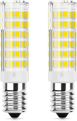 DiCUNO Ampoule LED E14 hotte 5W, équivalent halogène 50W, 550LM, Blanc froid 6000K, Petite vis edison, Non dimmable, ...