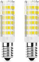 DiCUNO 2-Pack E14 LED-lamp 5W, Vervanging voor 50W halogeenlampe, 550 Lumen, Koud wit 6000K, Niet dimbaar, 220-240V, Energ...