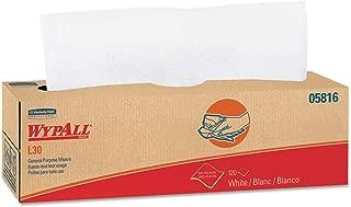 WypAll 05816 L30 Towels, POP-UP Box, 9 4/5 x 16 2/5, 120 per Box (Case of 6 Boxes)