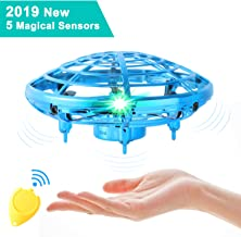 $25 » Flying Toys for Kids,Mini UFO Drone,Hand Operated Drones with 5 Sensors and 2 Speed,Easy Indoor Outdoor Flying Ball Drone Toys,Great Flying Drone Gift for Boys/Girls,USB Charging and Remote Controller