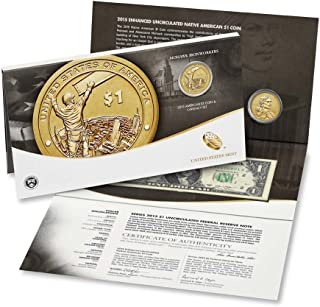 2015 native american coin and currency set