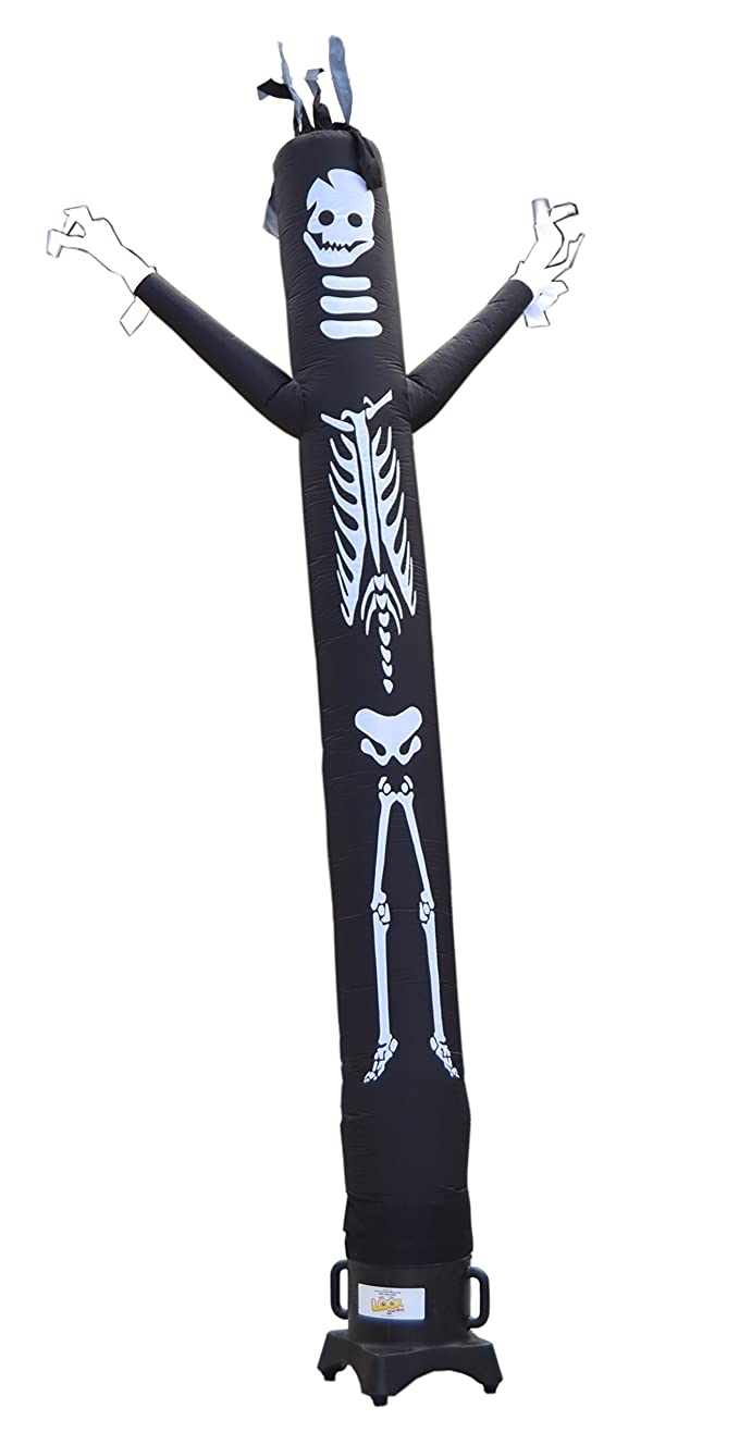 LookOurWay Skeleton Air Dancers Inflatable Tube Man Attachment, 10-Feet (No Blower)