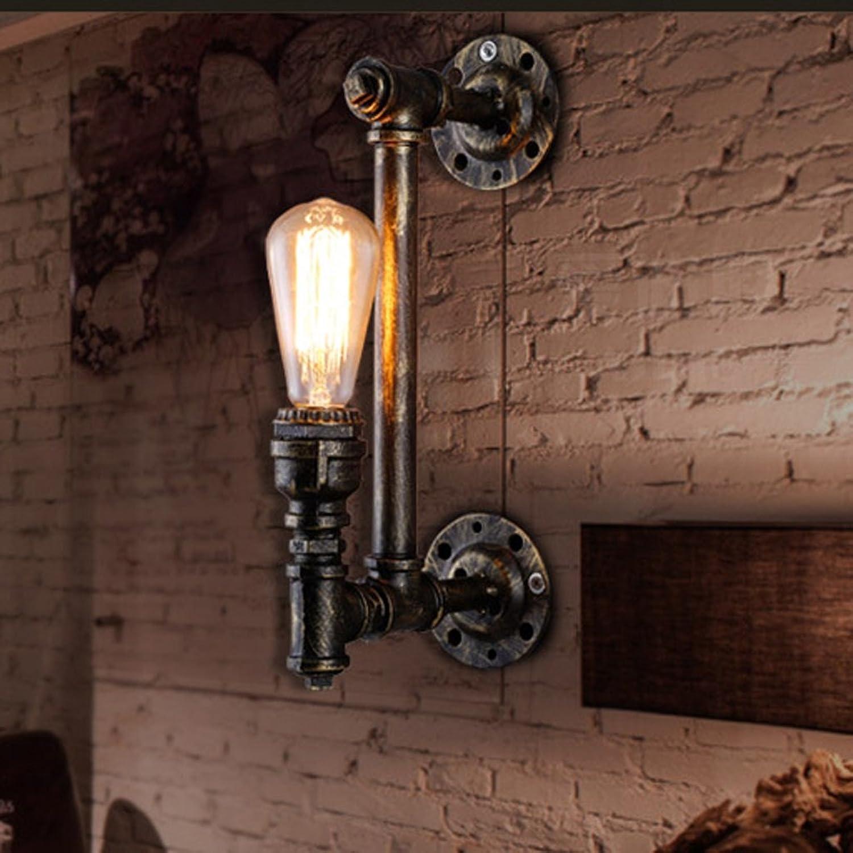 MEHE@ Mode Stilvoll Persnlichkeit kreativ Loft Aisle Restaurant Kreative Persnlichkeit Light Water Pipe Single Wandleuchte   E27