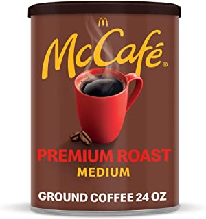 McCafé Premium Medium Roast Ground Coffee (24 oz Canister)