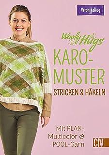 Christophorus Verlag Woolly Hugs Tricot et Crochet, avec Fil de Piscine Multicolore