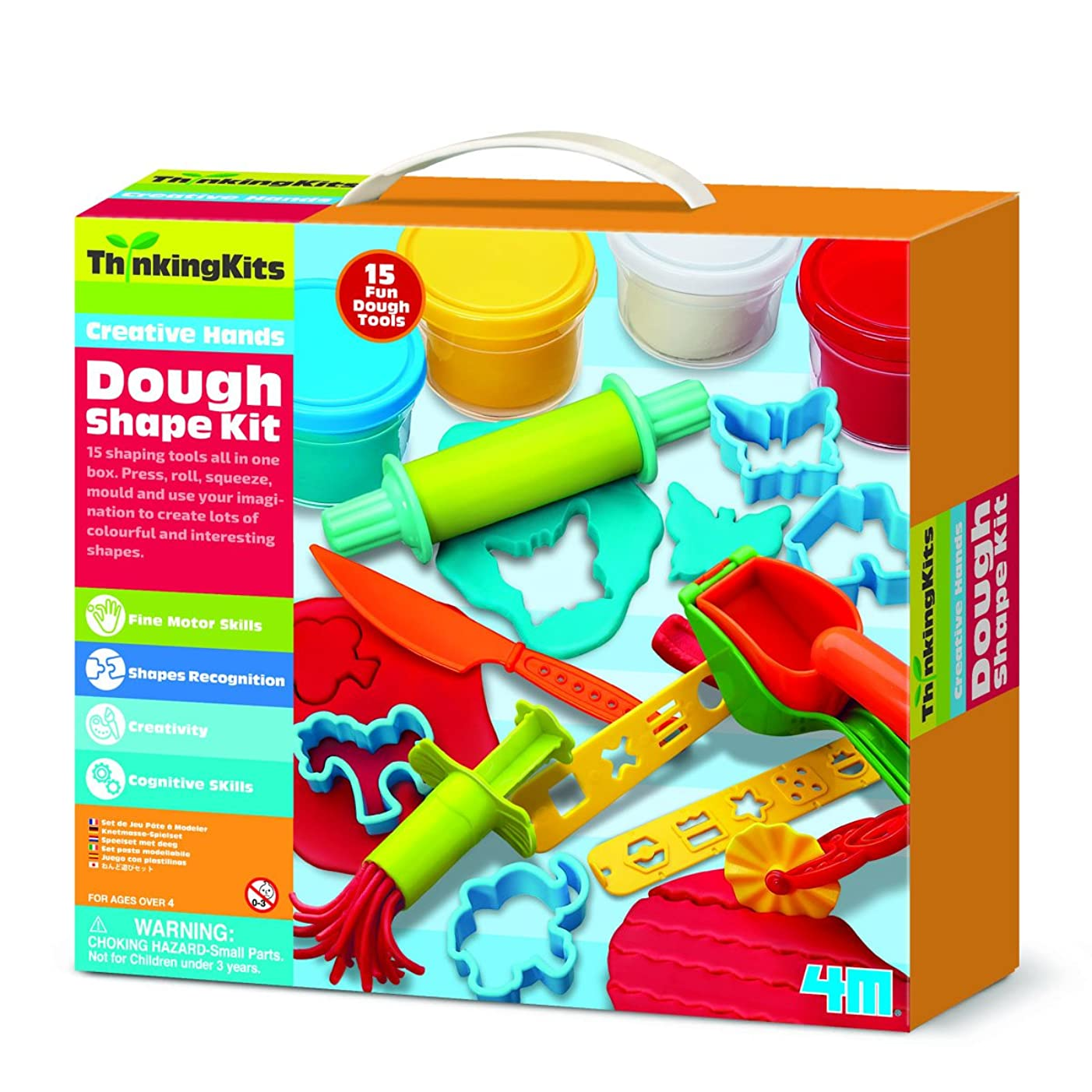 4M Dough Play Set Thinking Kit