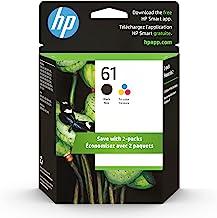 Original HP 61 Black/Tri-color Ink (2-pack) | Works with DeskJet 1000, 1010, 1050, 1510, 2050, 2510, 2540, 3000, 3050, 351...