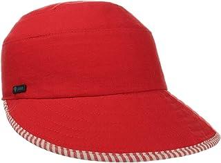 Lipodo Cappello da Donna Striped Piping - Made in Italy Berretto Lino Cappellino con Visiera, Visiera Primavera/Estate