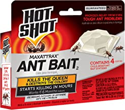 Hot Shot 2040W-1 MaxAttrax Ant Bait, 4 Count, Case Pack of 12