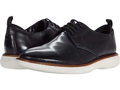 Clarks Brantin Low (Black Leather) Men