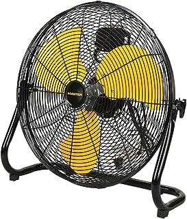 Master Professional High Velocity Floor Fan, 20-inch, 3 Speed, 4,800 CFM, OSHA Compliant - MAC-20F