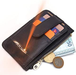 Front Pocket Wallets for Men RFID Blocking/Leather Bifold Wallets for Men Slim Black Leather Wallet Men/Money Clip Wallets...