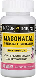 Mason Natural Masonatal Prenatal Formulation, 100 Tablets