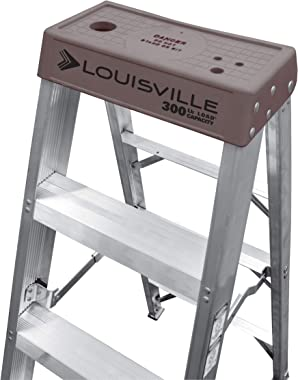 Louisville Ladder FBA_AS1016 Aluminum Step Ladder, 16-Foot