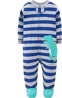 JinBei Pelele Bebe Niño Niña Mono Recien Nacido Mameluco Footies Algodon Pijama Mamelucos Manga Larga Caricatura Trajes En...