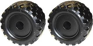 Jeep Wrangler Wheel Part Number B7659-2459. Barbie Jammin Jeep L7820. (Set of 2)