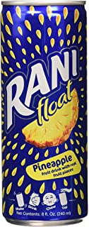 Rani Float Super Pineapple, Fruit Drink With Real Fruit Pieces, Can, 24x240ml