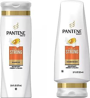 Pantene Pro-V FULL & STRONG Shampoo & Conditioner High Intensity Strength & Fullness ( 2 pack - 12 oz bottle each )