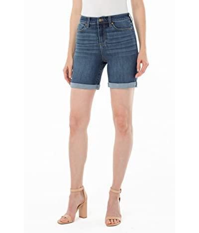 Liverpool Kristy Rolled Shorts (Warrenton) Women