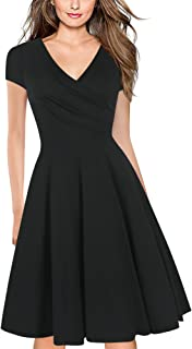 Best black fit and flare dress Reviews