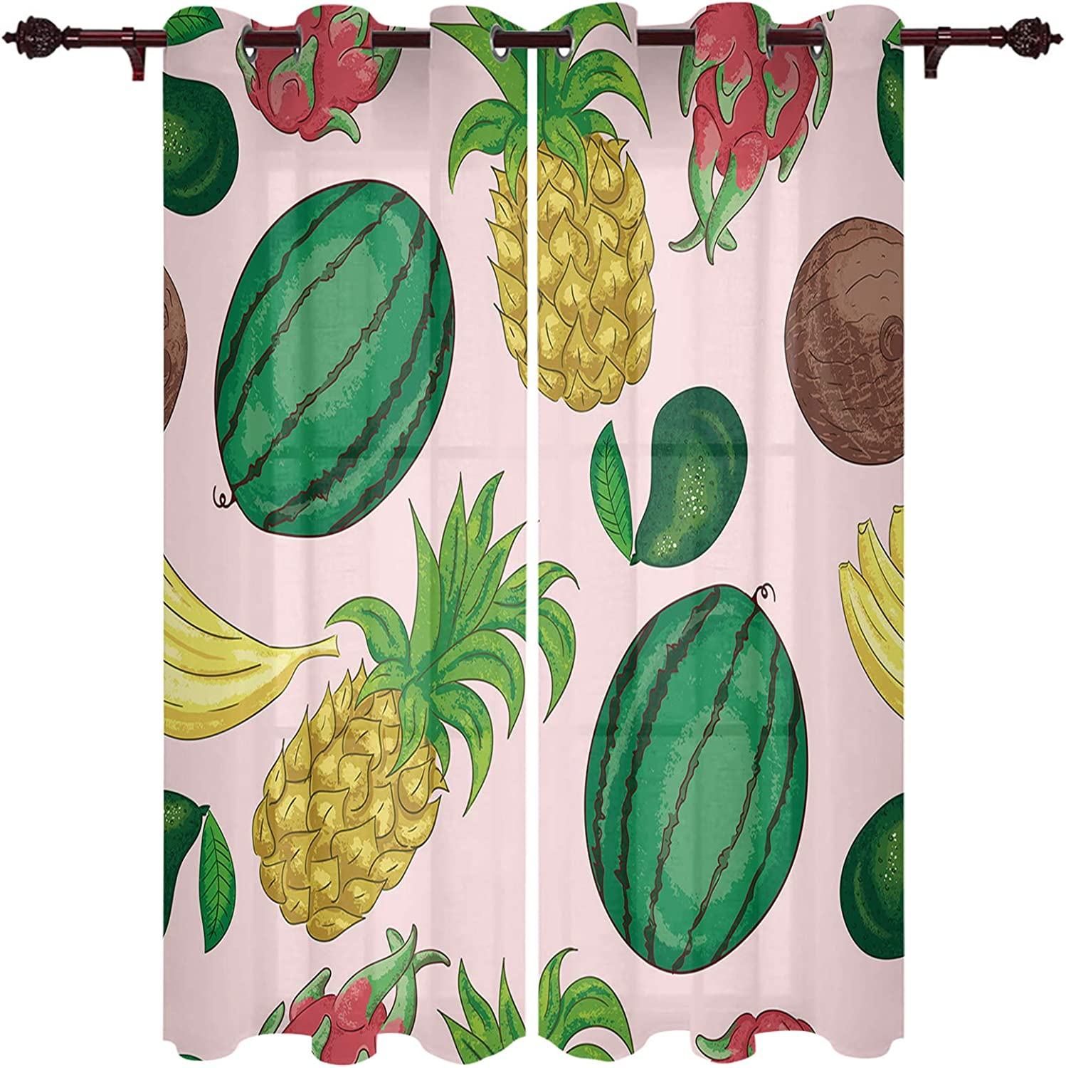 Topics on TV OUR WINGS Popular product Set of 2 Panels Curtains for Bedroom Roo Window Living