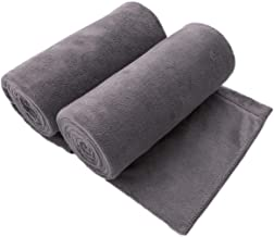 "JML Microfiber Bath Towel 2 Pack(30"" x 60""), Oversized, Soft, Super Absorbent and Fast Drying, No Fading Multipurpose Use ..."