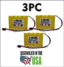 3PC 850.0035-850.0035 Emergi-Lite/Kaufel Replacement Battery